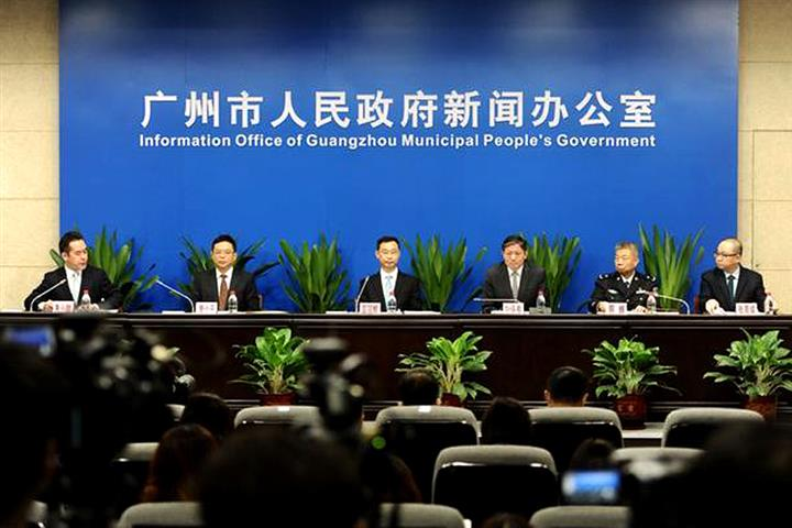 China's Guangzhou Has Tested All Arrivals From High-Risk Covid-19 Regions, Gov't Says