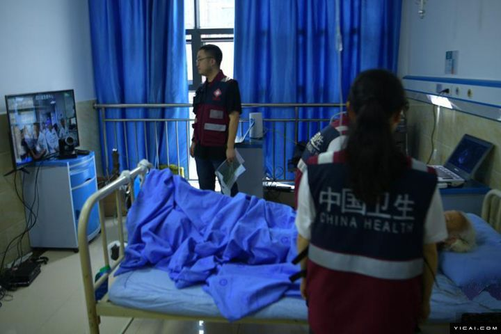5G Network Is Used in First Disaster Tele-Diagnosis After Sichuan Quake