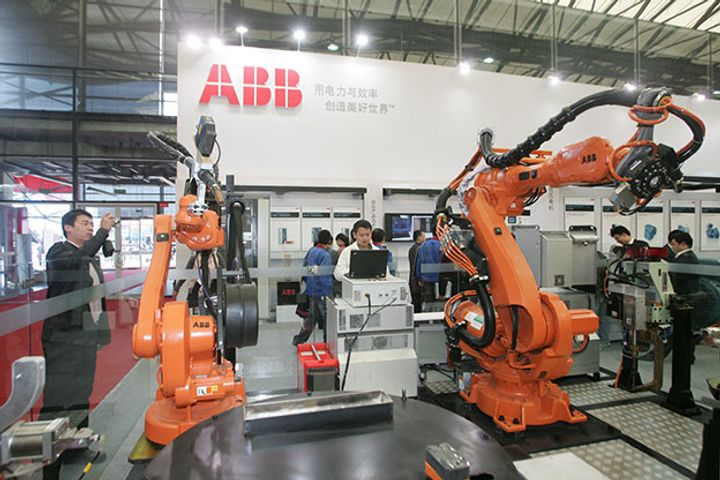 ABB to Make 100,000 Robots in China in 2021
