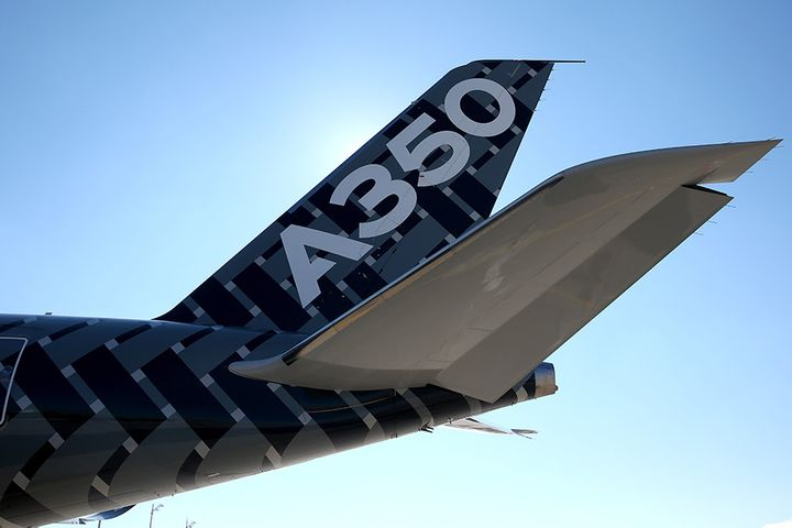 Airbus's China JV Is World's Sole Supplier of Composite Structural Parts for A350