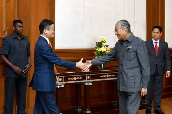 Alibaba, Chinese Firms Are Welcome to Invest in Malaysia, Prime Minister Tells Jack Ma