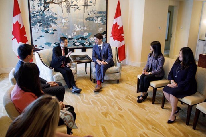 Alibaba Helps Canadian Firms Grow in China, Trudeau Says