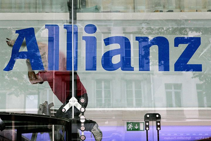 Allianz to Advance Plan for China's First Wholly Foreign-Owned Insurer Next Year