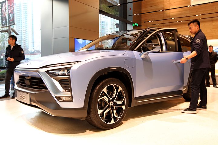 Second Nio Electric Car Goes Up in Smoke in a Month