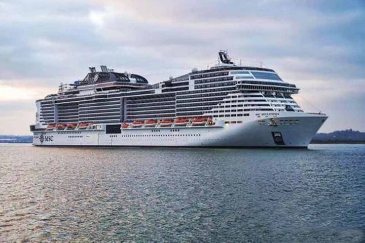 Asia's Largest Cruise Ship MSC Bellissima to Make China Debut Next June