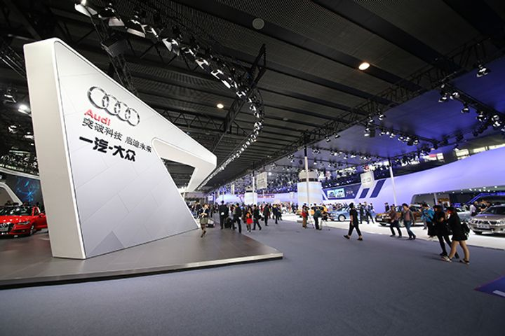 Audi Buys Into SAIC Volkswagen, Securing New China Sales Channel