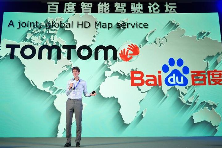 Baidu and TomTom Join in Duet to Draw High-Precision Map for Driverless Autos