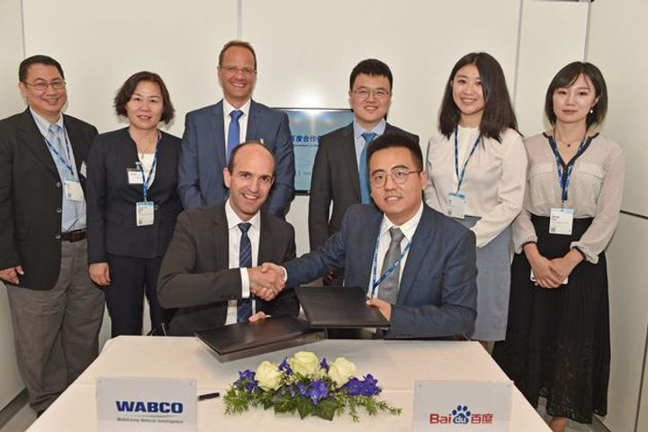 Baidu Partners Belgium's Wabco on Driverless Vehicle Solutions