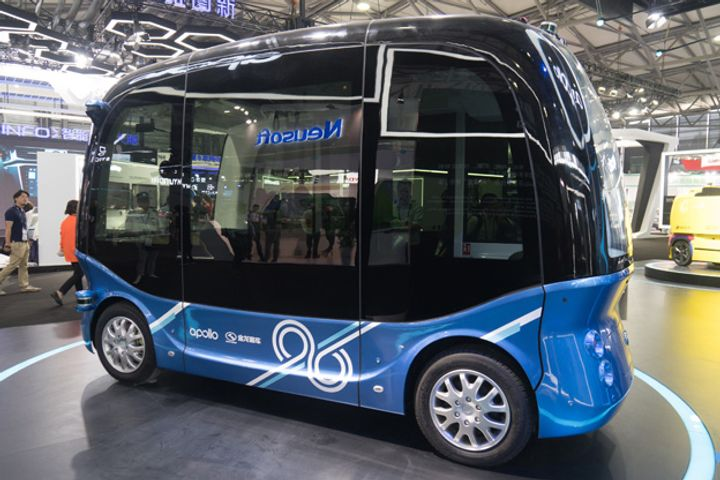 Baidu's Robin Li Reveals Unmanned Bus, AI Chip, Digital Assistant Upgrade at Tech Summit