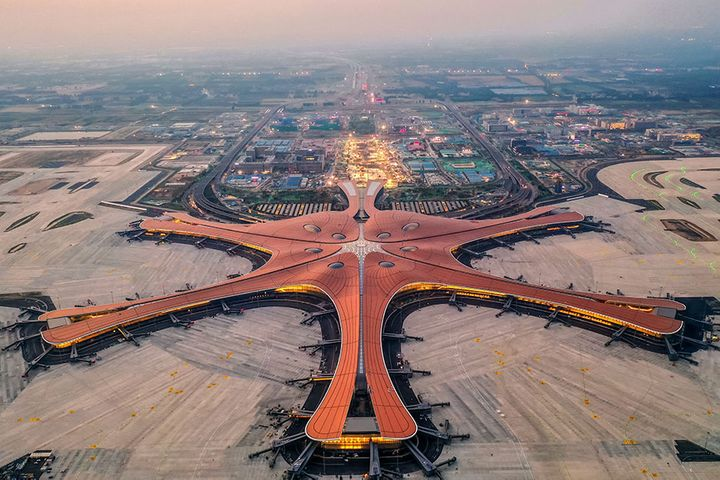 Beijing Daxing International Opens Early, Hosts Seven Planes' Maiden Flights