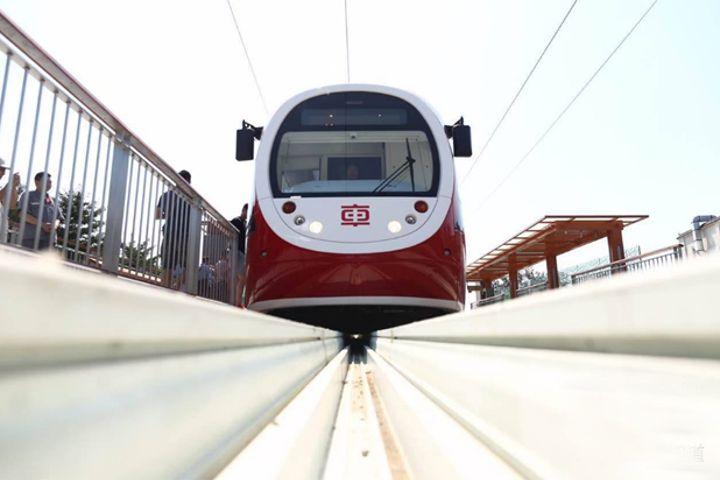 Beijing's First Modern Light Rail Will Run by Year's End