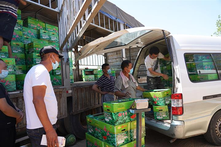 Beijing Moves Xinfadi Produce to Five Spots to Ensure Clean Supply