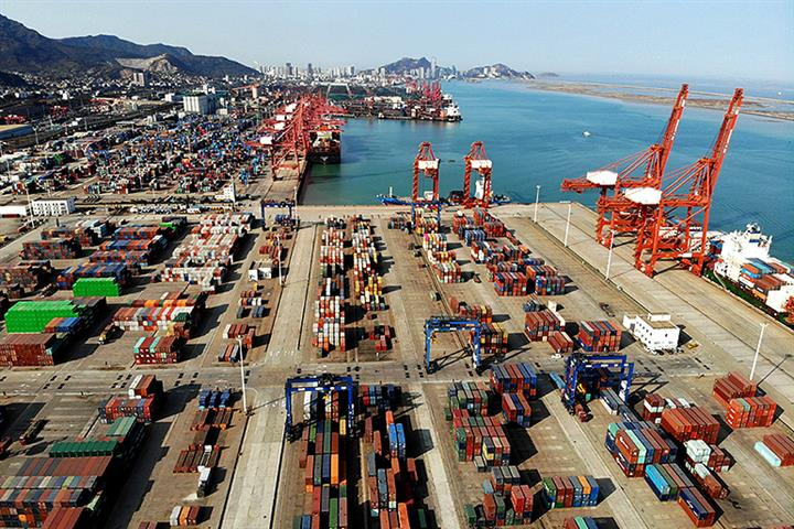 Belt and Road Countries Made Up 42% of China's Goods Trade Last Year, Report Shows