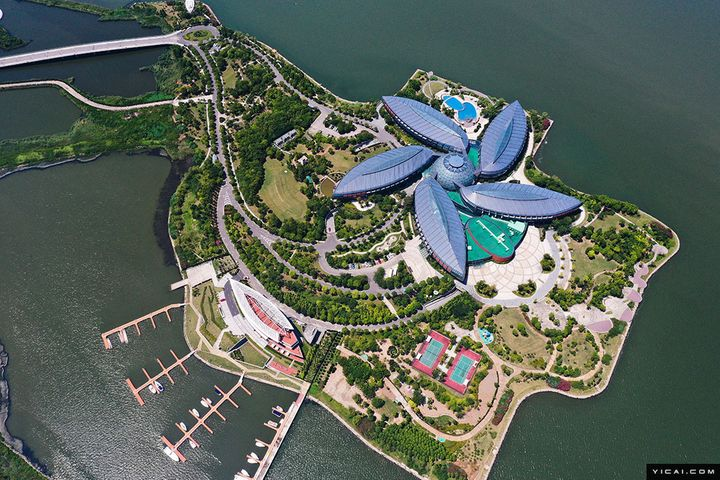 Bird's Eye Views Display the New Addition to Shanghai's FTZ