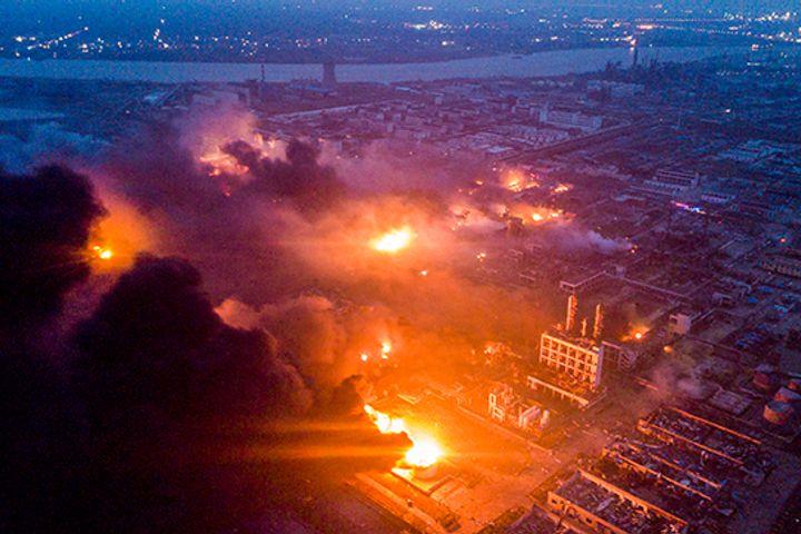 Blast at Hazard-Ridden Chemical Plant in Jiangsu Kills 44