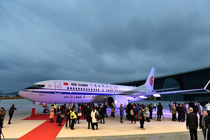 Boeing Delivers First 737 Made Abroad in China
