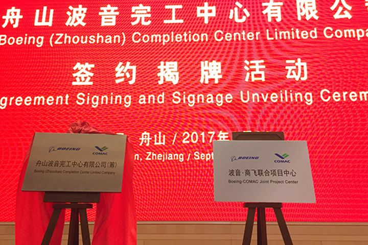 Boeing's First Overseas Plant Opens in China; Should Deliver First Aircraft by End of Next Year