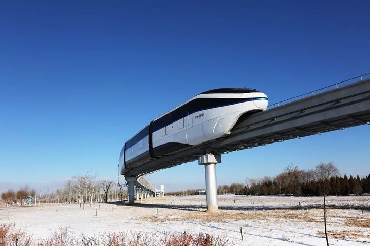 BYD-Huawei-Developed Autonomous Monorail Undergoes Testing