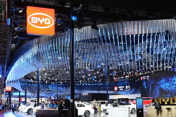 BYD's Net Profit Jumped Over Threefold in First Half on Cars, Handsets
