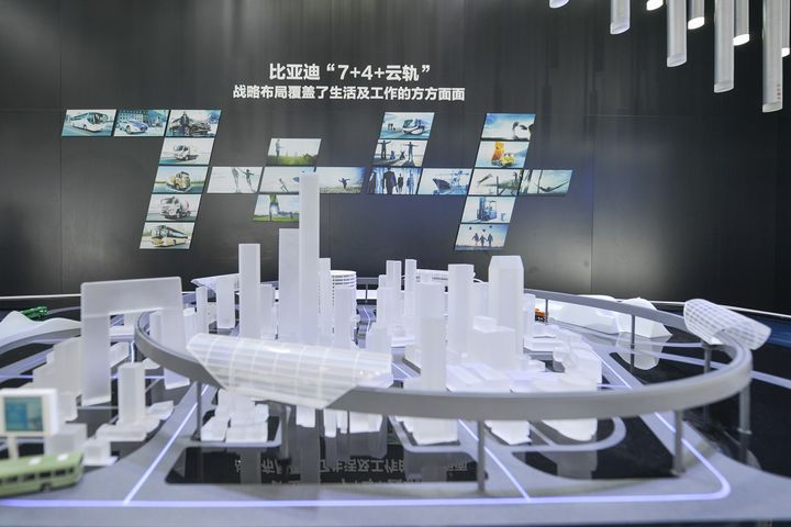 BYD's NEVs Can Combat Pollution While Its Cloud Rails Curb Congestion, Company Claims