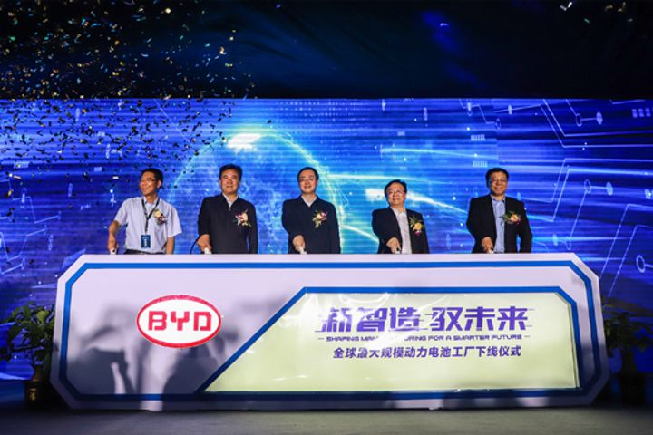 BYD Opens World's Largest NEV Battery Plant as China Drives to Scrap Fossil-Fueled Cars