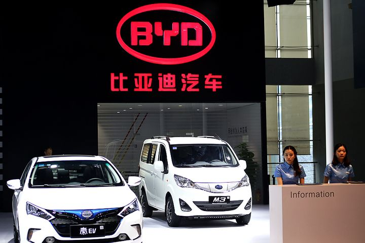 BYD's Shares Sink After Buffett-Backed Chinese Carmaker's Annual Profit Drops 42%