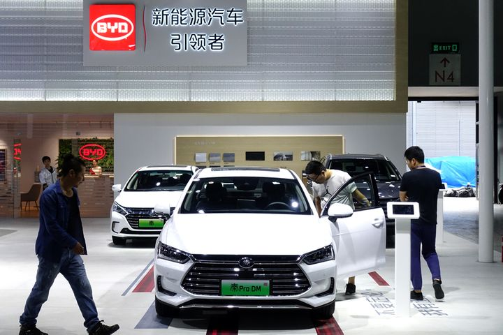 BYD Shares Tumble After Electric Carmaker's Nine-Month Profit Growth Braked