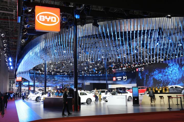 BYD Steers Into New Retail With E-Commerce Partnership