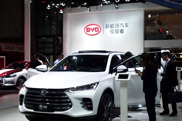 BYD Took Lion's Share of USD2 Billion NEV Grants China Doled Out Last Year