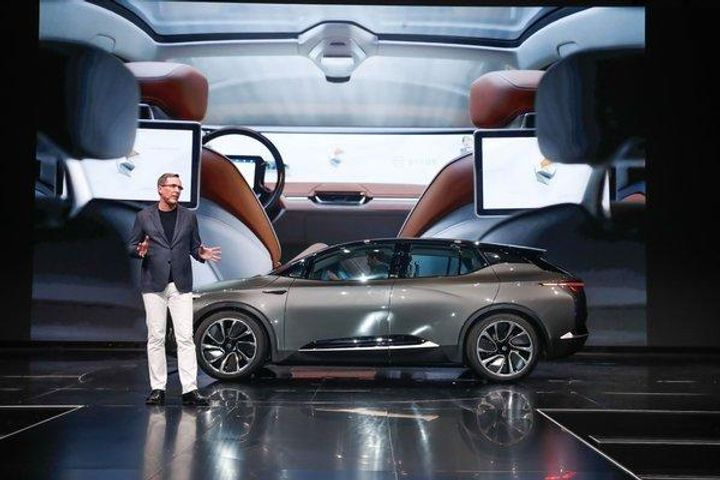 Byton Debuts Its First Electric Car at CES