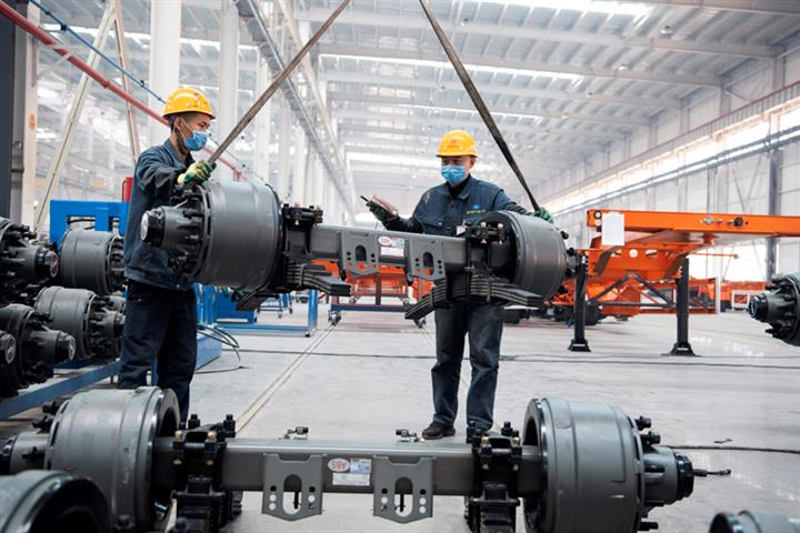 Caixin's China Manufacturing PMI Fell to 10-Month Low of 50.6 in March Amid Slowing Growth