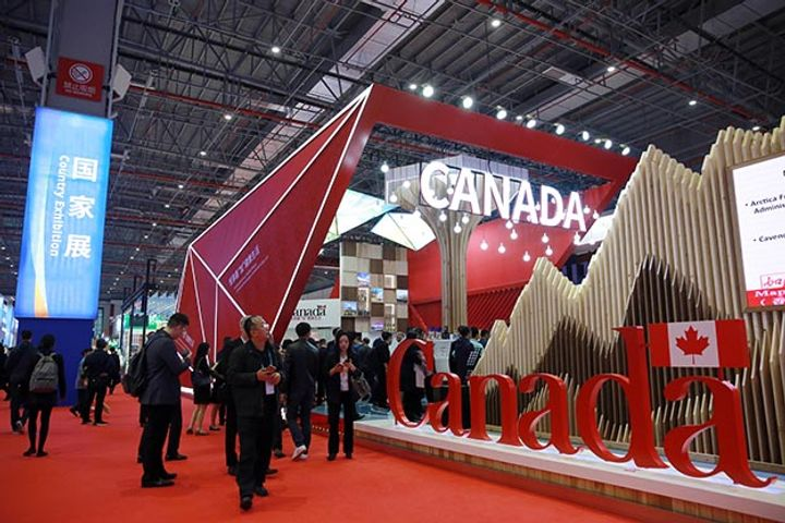 Canada Grabs Spotlight at CIIE With Daily Exhibits, Consul-General's Presence