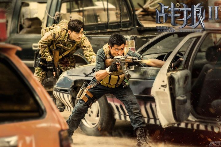 China's Action Blockbuster Wolf Warrior 2 Is Set to Break New Box Office Record of Any Chinese Film