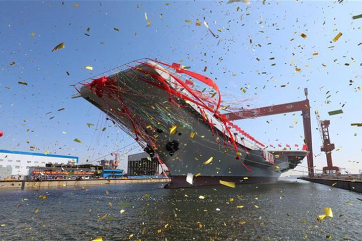 China's Aircraft Carrier Type 001A Completes Multiple Milestone Projects Ahead of Schedule