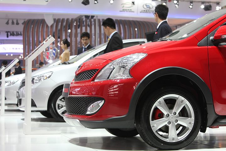 China's Auto Sales Fell 6.9% in August, Car Alliance Says