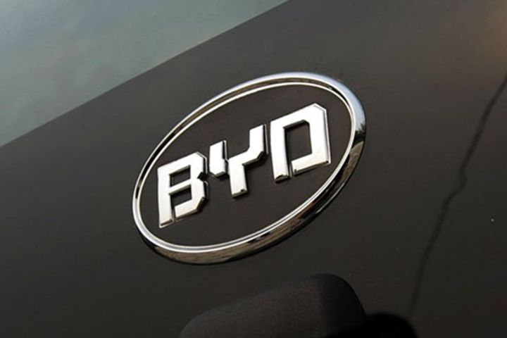 BYD Shares Drop After China's Biggest EV Maker Predicts Slower Profit Growth
