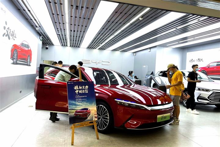 China's BYD Ousts Tesla to Nab Top Spot in Global EV Sales in July