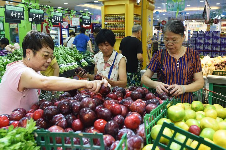 China's CPI Rose 2.8% Annually in August as Pork Prices Surged 46.7%