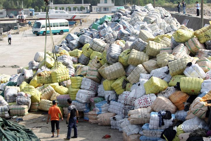 China Cries Foul on Filthy Foreign Waste Imports