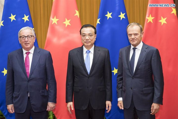 China, EU Agree to Promote Multilateralism, Support Free Trade