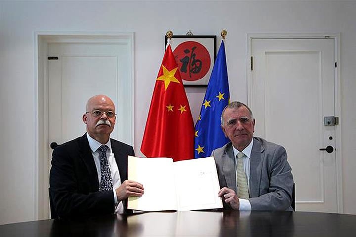 China, EU Sign Pact to Protect 550 of Their Local Products