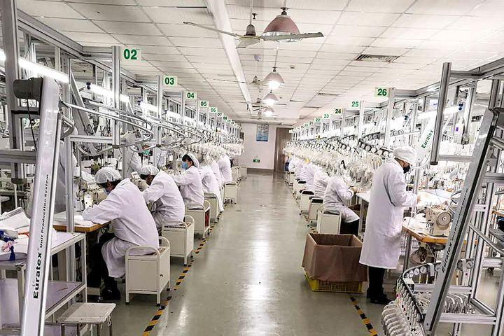 China's First Reusable KN95 Masks Start Mass Production
