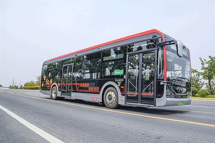 China's Guangzhou to Open Six Bus Routes Running 50 Driverless Vehicles