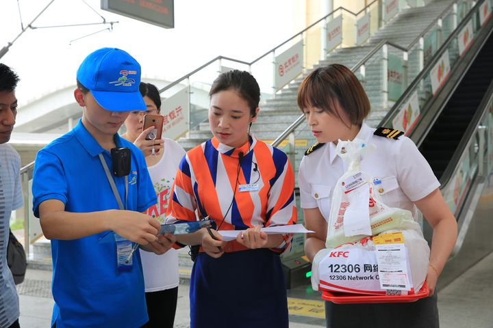 China's High-Speed Train Passengers to Have O2O Food Delivery, Including From McDonald's, KFC