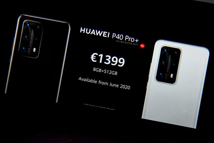 China's Huawei Scrambles for OS Success With P40 5G Series Launch