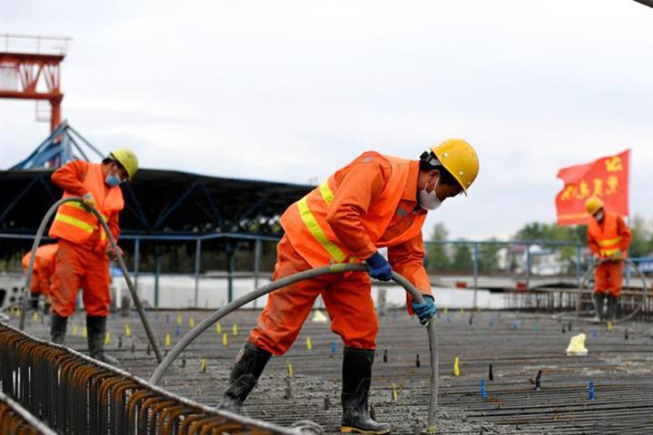 China's Infrastructure Construction Gathers Pace as Epidemic Wanes