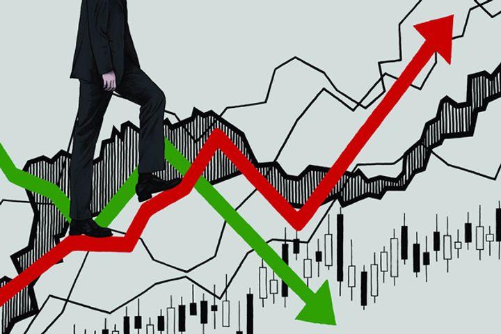 China's Main-board Stock Markets Closed high Amid Fluctuation