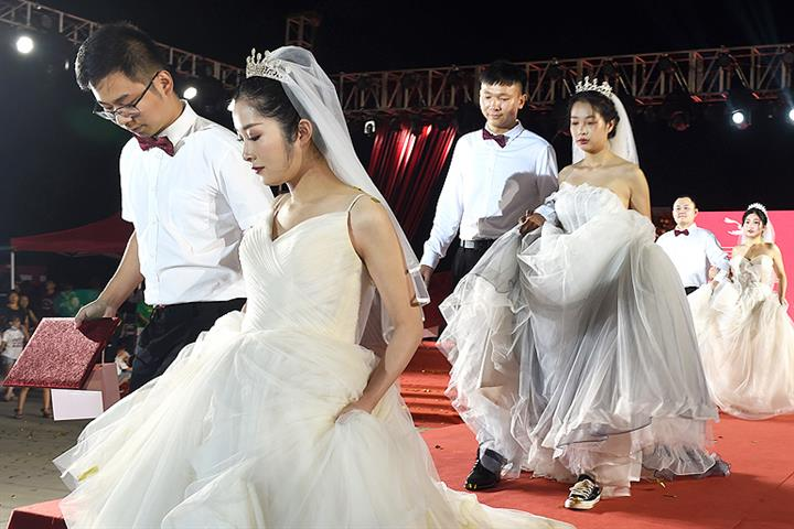 China's Marriage Rate Keeps Falling as Millennials Face High Housing Costs, Have More Options