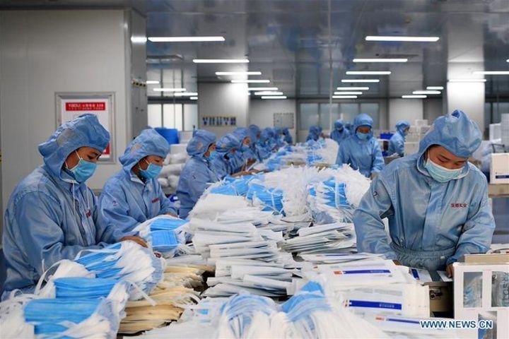 China's N95 Mask, Protective Clothing Production Has Surged, NDRC Says
