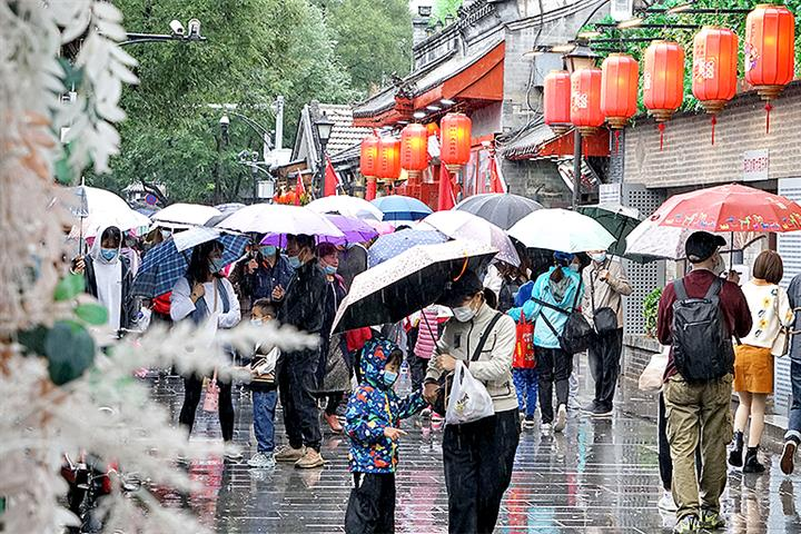 Tourism Revenue Over China's National Day Holiday Was 60% of Pre-Covid Level
